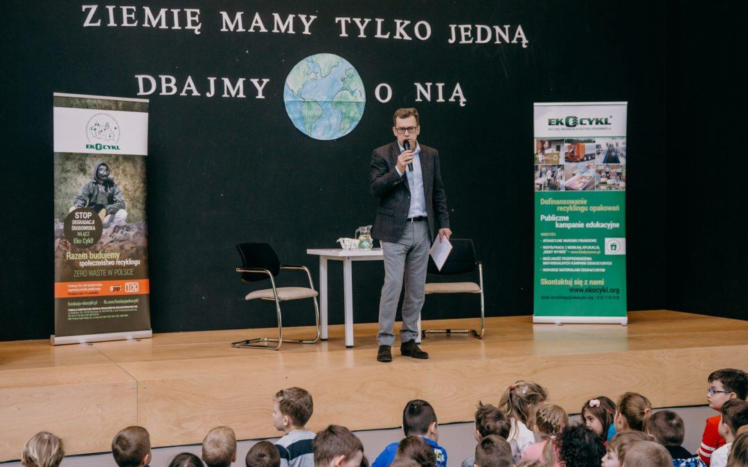 Warsztaty Ekologiczne EKO CYKL z Maciejem Orłosiem.